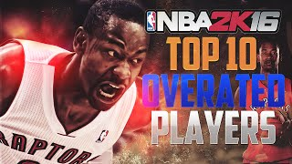Download NBA2K Top 10 Most OVERRATED and OVER POWERED Players! Video