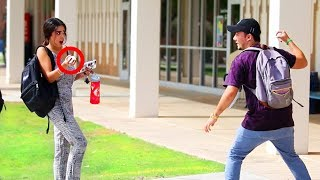 Download Starting Water Balloon Fights PRANK!! Video
