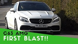 Download MY FIRST 'PROPER' DRIVE | C63 AMG!! Video