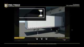 Download Trailer Loading and Unloading with a Forklift or Powered Industrial Truck Video