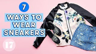 Download 7 Cute Ways To Wear Sneakers | Style Lab Video