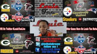Download Championship Sunday Preview & Predictions: GB @ ATL & PIT @ NE Video