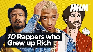 Download Top 10 Rappers Who Grew Up Rich Video