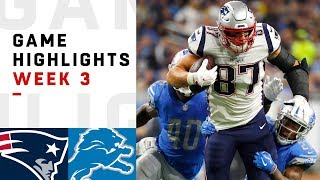 Download Patriots vs. Lions Week 3 Highlights | NFL 2018 Video