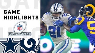 Download Cowboys vs. Rams Divisional Round Highlights | NFL 2018 Playoffs Video