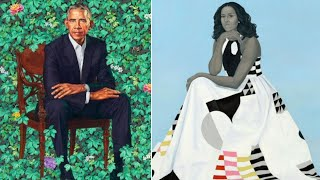 Download Official Portraits for Barack and Michelle Obama Unveiled Video