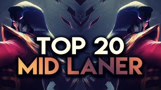 Download Top 20 MID LANER Plays #03 | League of Legends Video
