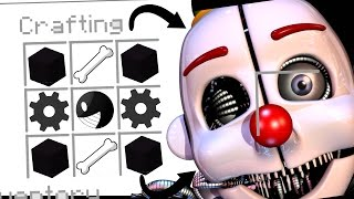 Download Minecraft Fnaf - How To Summon Ennard In A Crafting Table (Minecraft Roleplay) Video