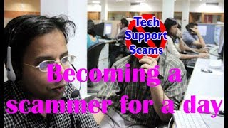 Download Becoming a scammer for a day Video