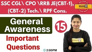 Download Class-15 ||#SSC CGL\CPO\RRB JE (CBT-1),Tech.\RPF Cons. || G.A. || By Sonam Ma'am Video