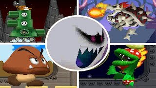Download Newer Super Mario Bros. DS - All Bosses Video