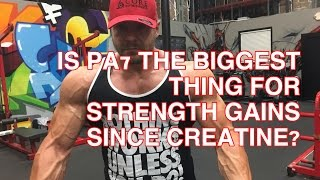 Download Is PA(7) The Biggest Thing For Strength Gains Since Creatine? Video