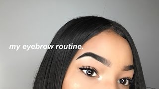 Download MY UPDATED EYEBROW ROUTINE (IN-DEPTH) 2017 Video