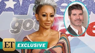 Download EXCLUSIVE: Mel B on Why She Threw Water at Simon Cowell During Emotional 'AGT' Episode Video