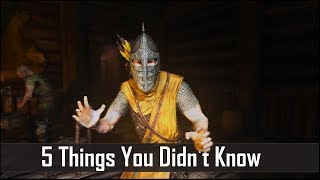 Download Skyrim: 5 Things You Probably Didn't Know You Could Do - The Elder Scrolls 5: Secrets (Part 3) Video