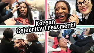 Download Experiencing a Korean Celebrity Beauty Salon! - this was INTENSE! Video