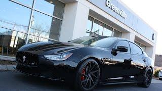 Download 2016 Maserati Ghibli S - ″Bellezza Nera″ custom exhaust sound (extended) Video