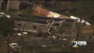 Download RAW VIDEO: NewsChopper 2 over storm damage in Ashburn Video