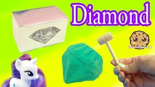 Download Surprise Diamond Dig It Digging For Diamonds with My Little Pony Rarity - Cookie Swirl C Video Video