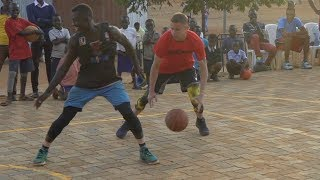 Download Professor 1v1 vs Two College African Hoopers... Gets locked up multiple times, EPIC endings Video