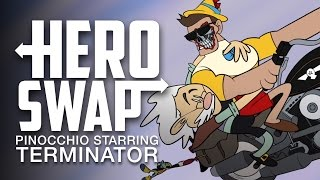 Download Pinocchio Starring Terminator - Hero Swap Video