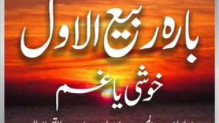 Download Maulana Abdul Majeed Nadeem - 12 Rabi ul Awwal Khoshi Ya Gham (17 May 2003) Video
