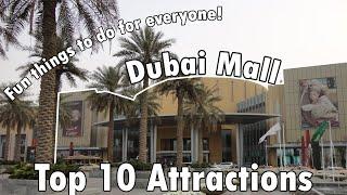 Download Dubai Mall Top 10 Attractions Countdown 4K - Dubai 2019 Video