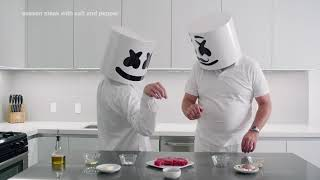 Download How To Cook Steak (Father's Day Edition)   Cooking with Marshmello Video