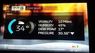 Download Chicago IntelliStar2 Local Forecast - 2/13/18 @ 4:48 pm Video