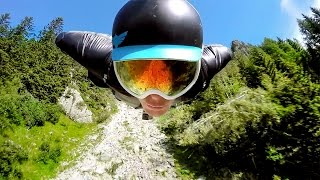 Download GoPro: 2500m Chamonix Wingsuit Flight Video