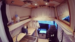 Download Girl builds a camper van - 32 months in 4 minutes Video