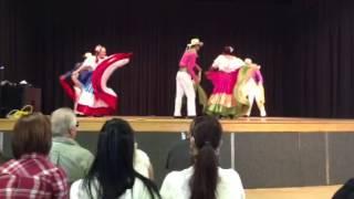 Download Alma Tica Costa Rica Folk-Dance Group Dancing ″ El Punto Guanacasteco ″ Video