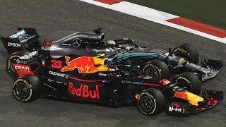 Download Verstappen and Hamilton Clash in Bahrain - Watch in 360 Video