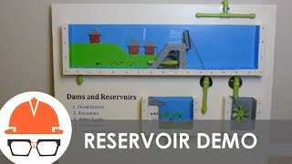 Download Dam and Reservoir Civil Engineer Career Day Display Video