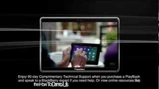 Download New BlackBerry PlayBook™ 4G 10 inch Display Video