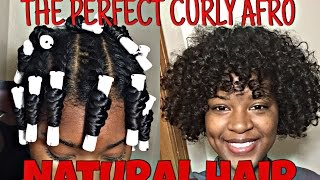 Download The PERFECT Curly Afro Tutorial With Natural Hair Video