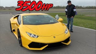 Download 3500HP Lamborghini Mind Blowing ACCELERATION to 229MPH! Video
