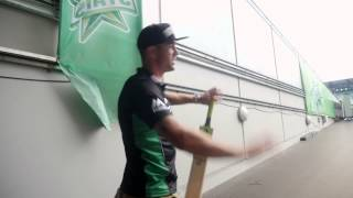Download Kevin Pietersen tours the MCG and Stars' rooms Video