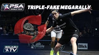 Download ″HE'S DONE THE TRIPLE FAKE!″ - Squash MegaRally - Willstrop v Gawad Video