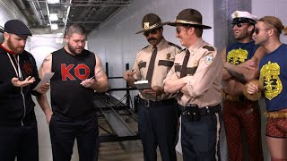 Download Super Troopers harass SmackDown LIVE Superstars Video