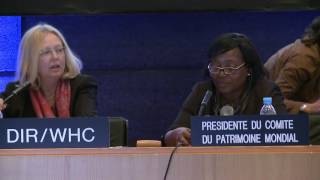 Download 40th World Heritage Committee (Continuation) in UNESCO, Tuesday 25 October 2016, 15h-15h30 Video