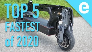 Download Top 5 fastest electric scooters of 2020 Video