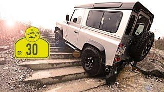 Download Offroad in der Land Rover Experience Wülfrath | Von der Rostlaube zum Abenteuermobil Video