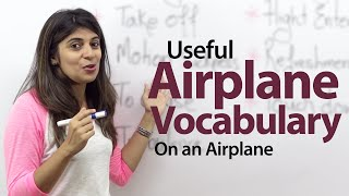Download On an Airplane - English Vocabulary Lesson Video