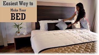 Download Indian Youtuber Home Decor - How to Make A Bed Video