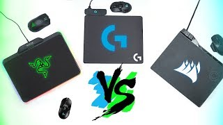 Download Comparison! Razer HyperFlux vs Logitech Powerplay vs Corsair MM1000 & Dark Core Video