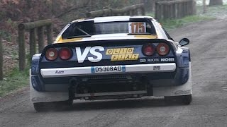 Download Ferrari 308 GTB Rally Group 4 - Loud V8 Sound In Action Video
