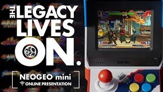 Download NEOGEO mini Online presentation: THE LEGACY LIVES ON. Video