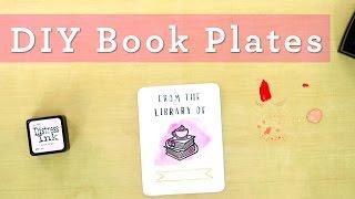 Download Easy DIY Book Plates Video