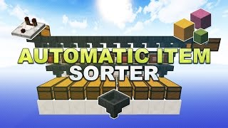 Download Minecraft - Automatic Item Sorter // Sortiermaschine (Overflow Protection & Silent) - Tutorial 1.12 Video